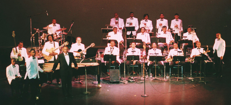 HUJE in 1996 at the Warner Theater in Washington, DC