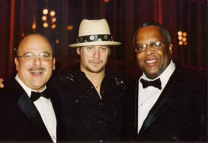 Chris Tranchitella, Kid Rock and Fred Irby, III