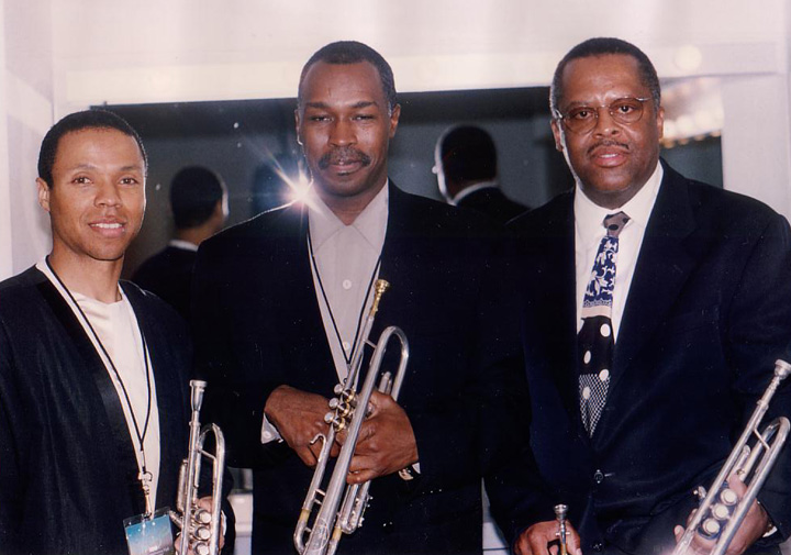 Chris Royal, Ray Brown and Fred Irby, III