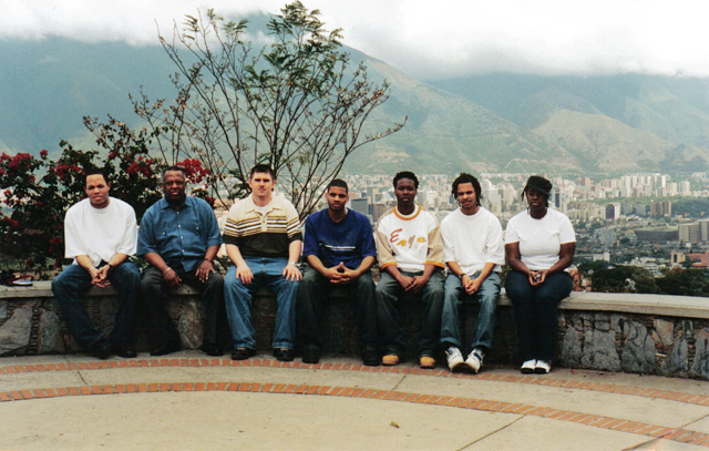 HU Jazztet in Caracas Venezuela on February 6 2004