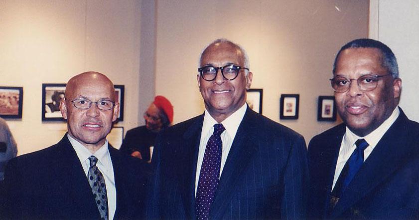 Jazz trumpeter Dr. Eddie Henderson, Dr. LaSalle D. Leffall, Jr.