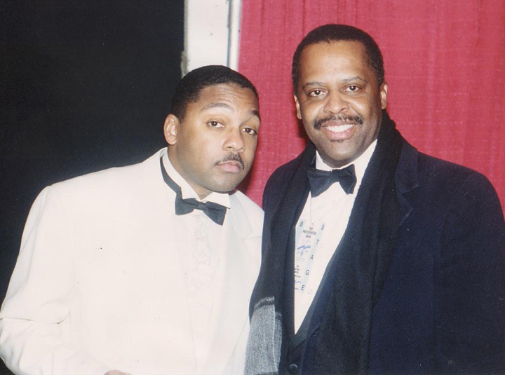 Wynton Marsalis and Fred Irby, III