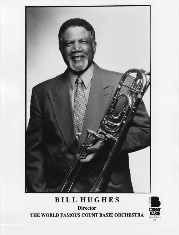 Bill Hughes, HU Alumni, is the Music Director of the Count Basie Orchestra
