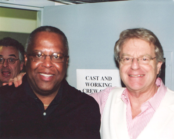 Fred Irby, III and TV personality Jerry Springer