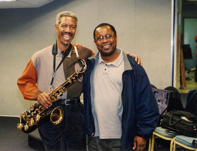 Saxophone Titans: Billy Harper and Professor Charlie Young - 2004