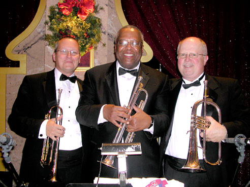 Christmas in Washington Gala trumpet section