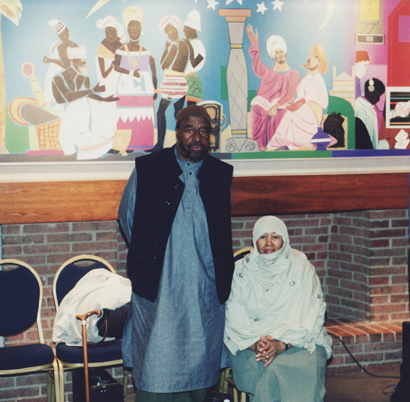 Dr. Yusef Lateef and wife, Tahira Lateef