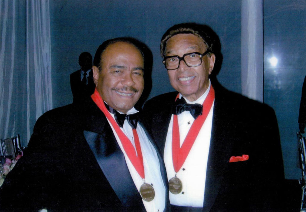 1996 NEA Jazz Master Benny Golson and 1988 NEA Jazz Master Billy Taylor