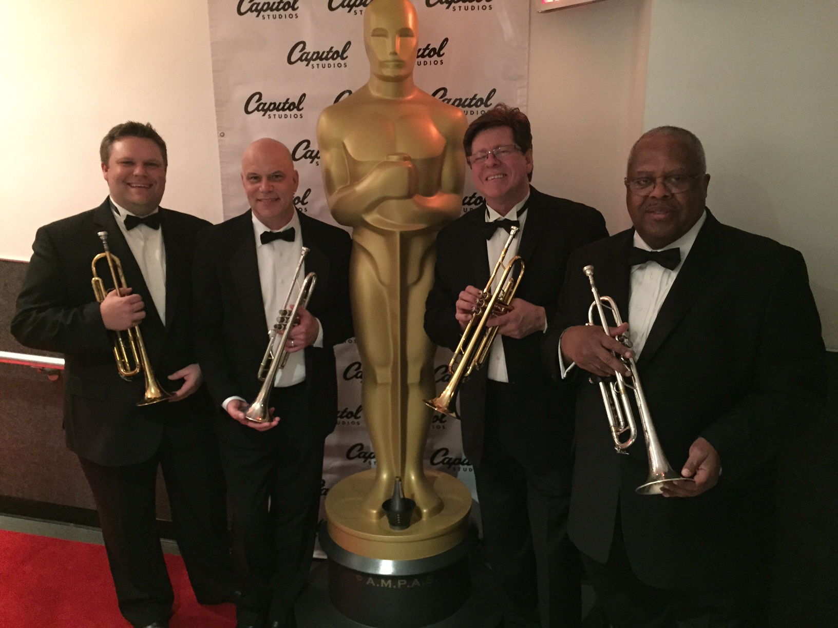 The 87th Academy Awards Gala (Oscars) trumpet section