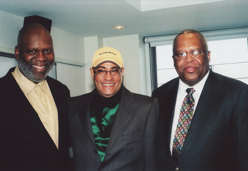 Dr. Sais Kamalidiin, Jimmy Owens and Professor Fred Irby, III, March 2008 on campus