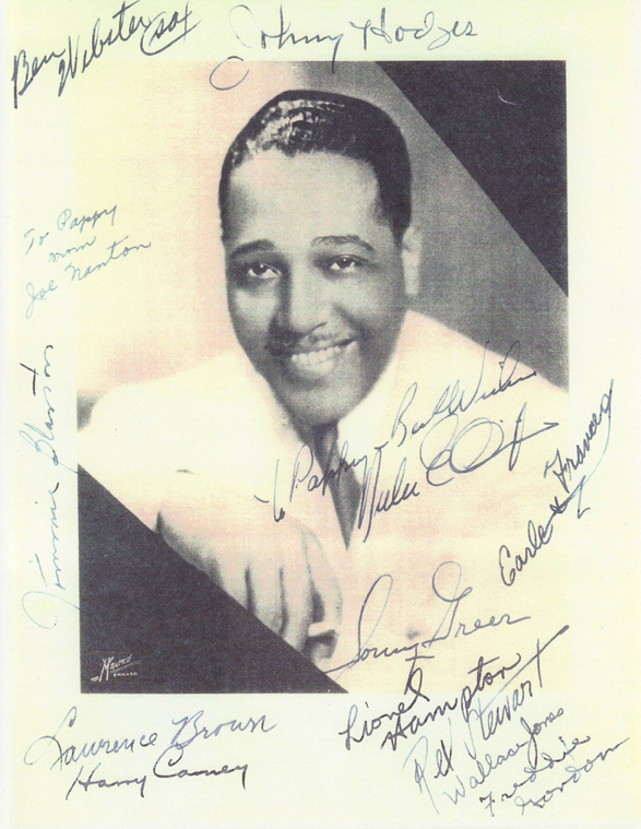 Classic photograph of the great Duke Ellington