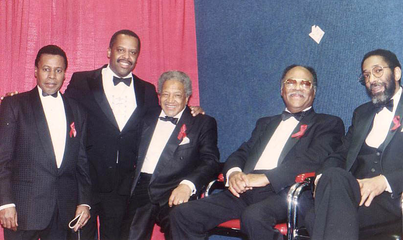 At President Clinton's Inaugural Gala January 19, 1992