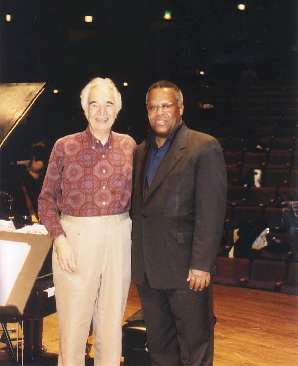 Dave Brubeck and Fred Irby, III in Baltimore MD
