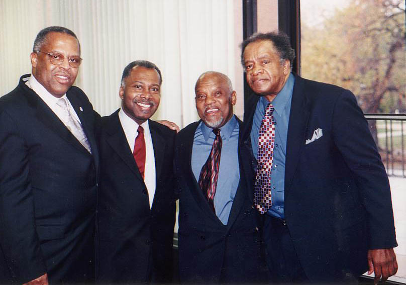 Fred Irby, III, Dr. Langston Fitzgerald, Marcus Belgrave and Donald Byrd