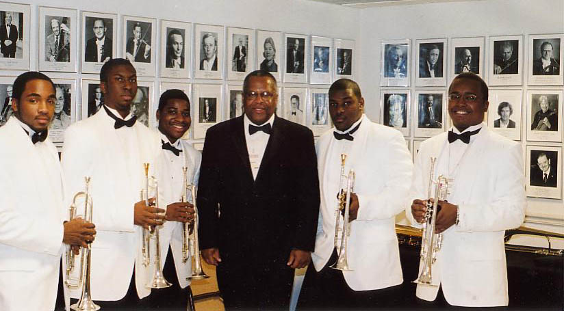 HUJE Trumpets at Kennedy Center Honors Gala - 2005