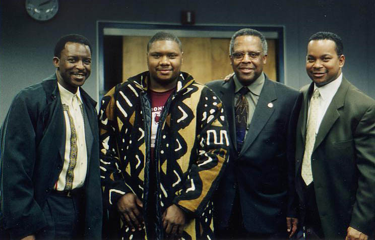 Herlin Riley, Wycliffe Gordon, Fred Irby, III and Victor Goines