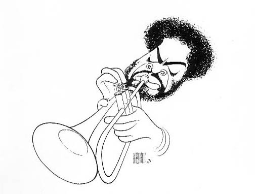 Portrait of Donald Byrd by Hershfeld