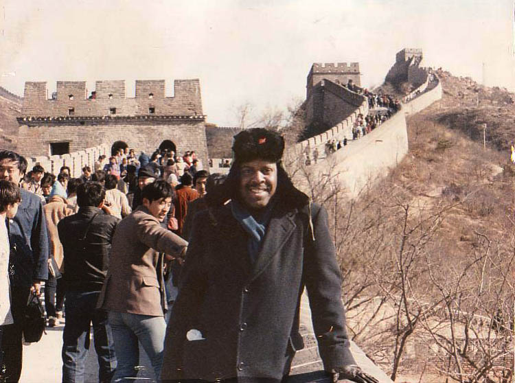 Great Wall of China in 1986