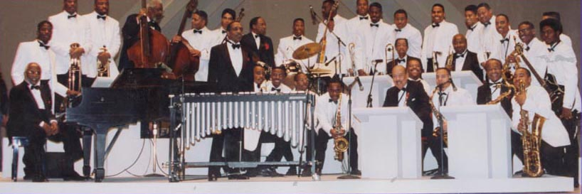 HUJE and the Golden Men of Jazz at the 1992 Kennedy Center Honors Gala